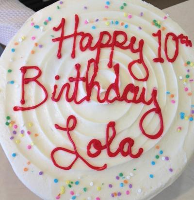 happy 10th birthday lola